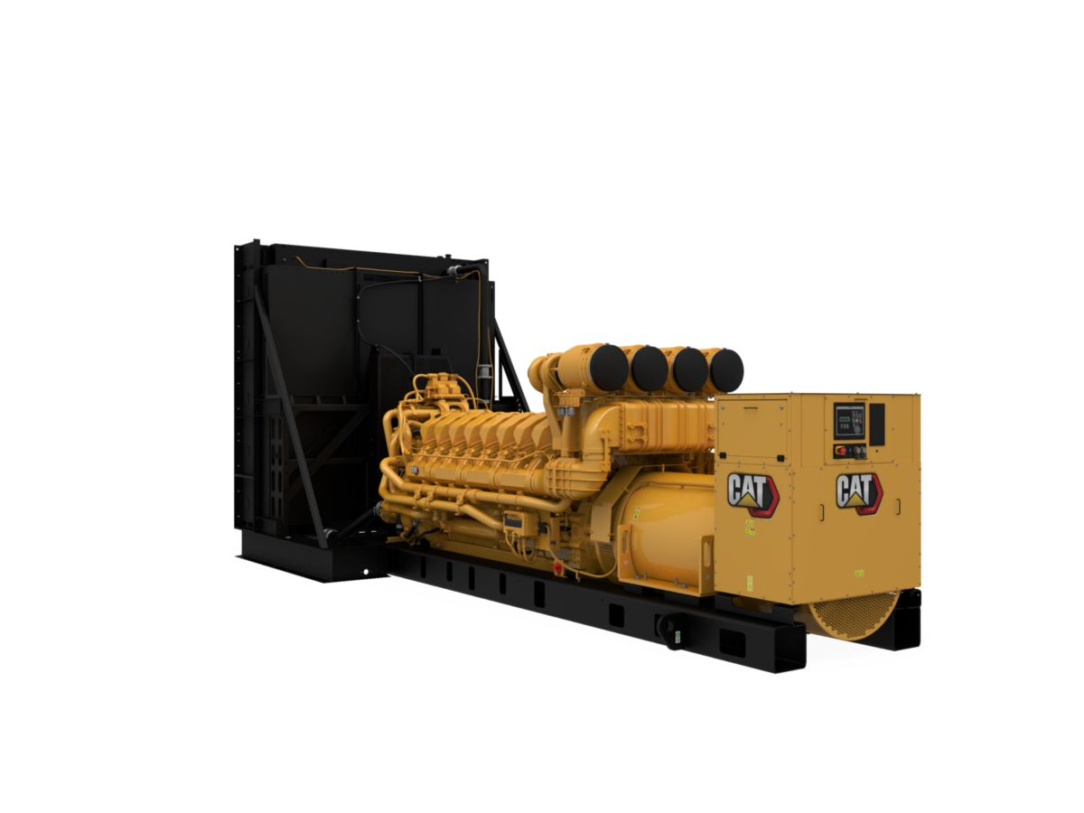 C175-16 Diesel Generator Set, Front Left View