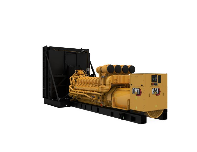 C175-16 Diesel Generator Set, Front Left View