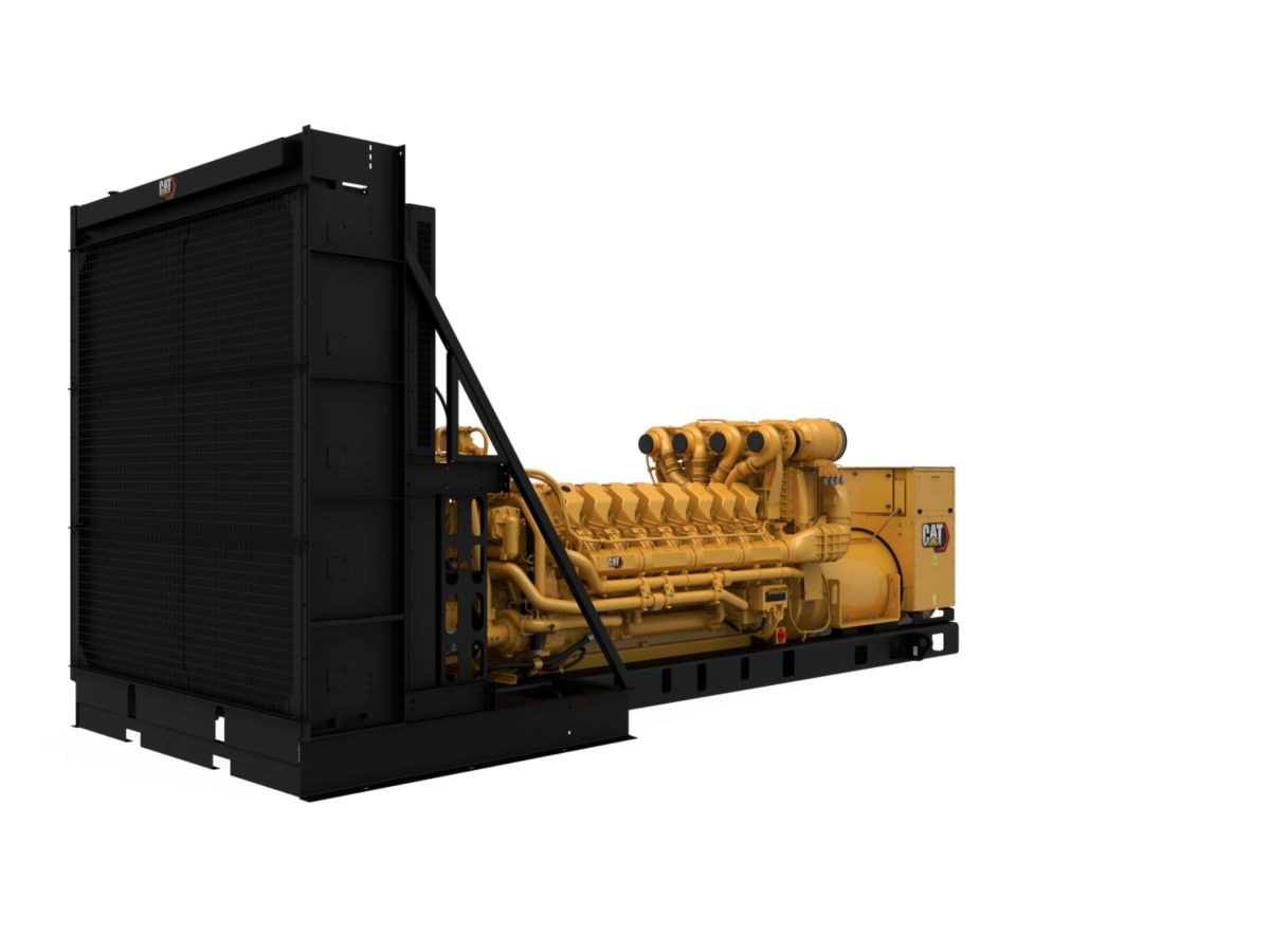 C175-16 Diesel Generator Set, Front Right View