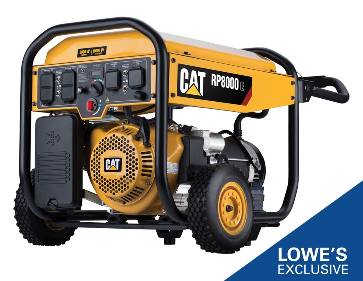 RP8000 E Portable Generator with Cat® CO DEFENSE™