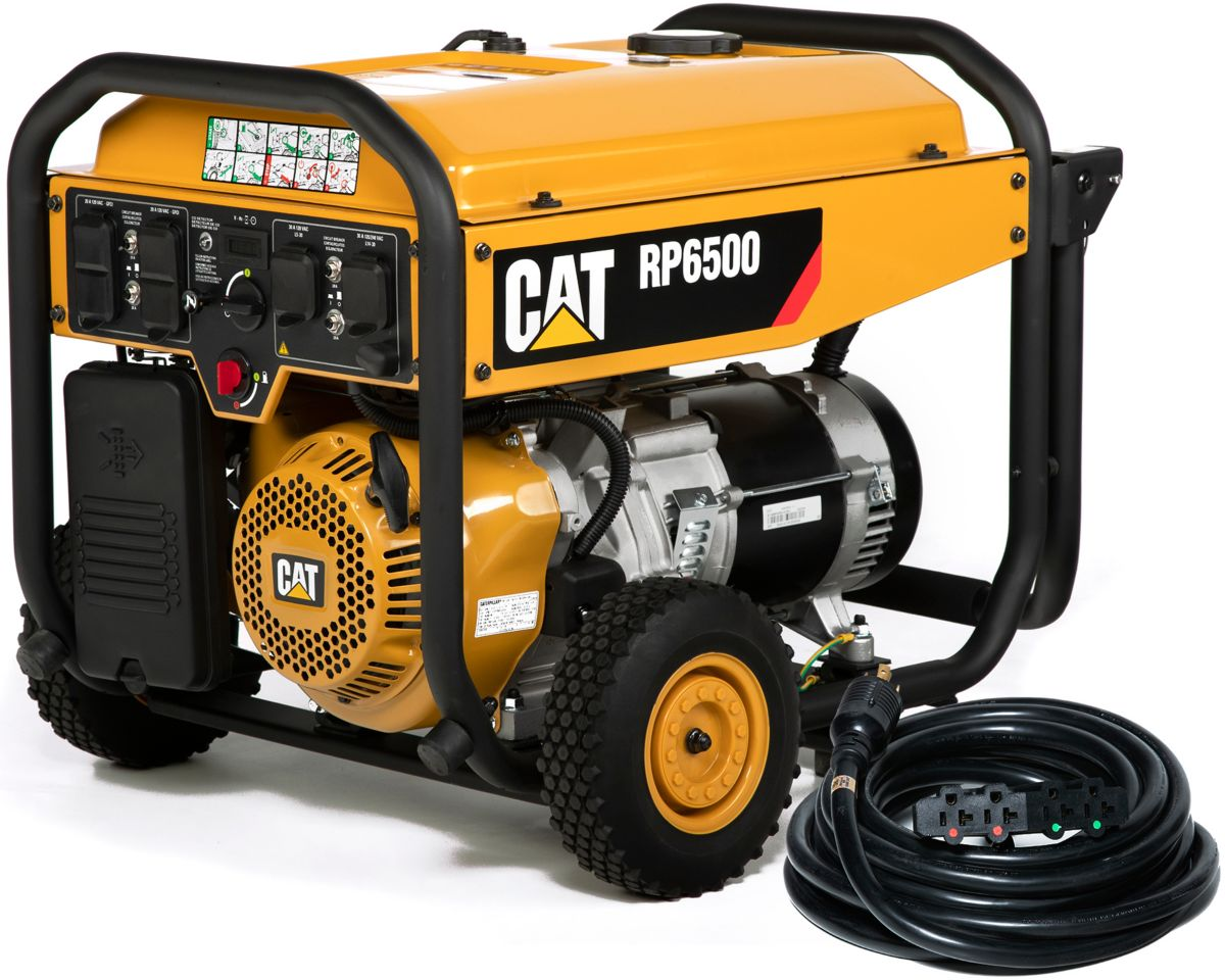 RP6500 Portable Generator with Cat® CO DEFENSE™ and Power Cord
