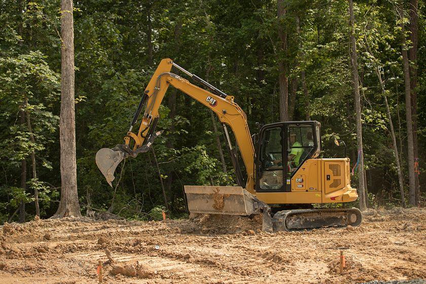 306 CR Mini Hydraulic Excavator