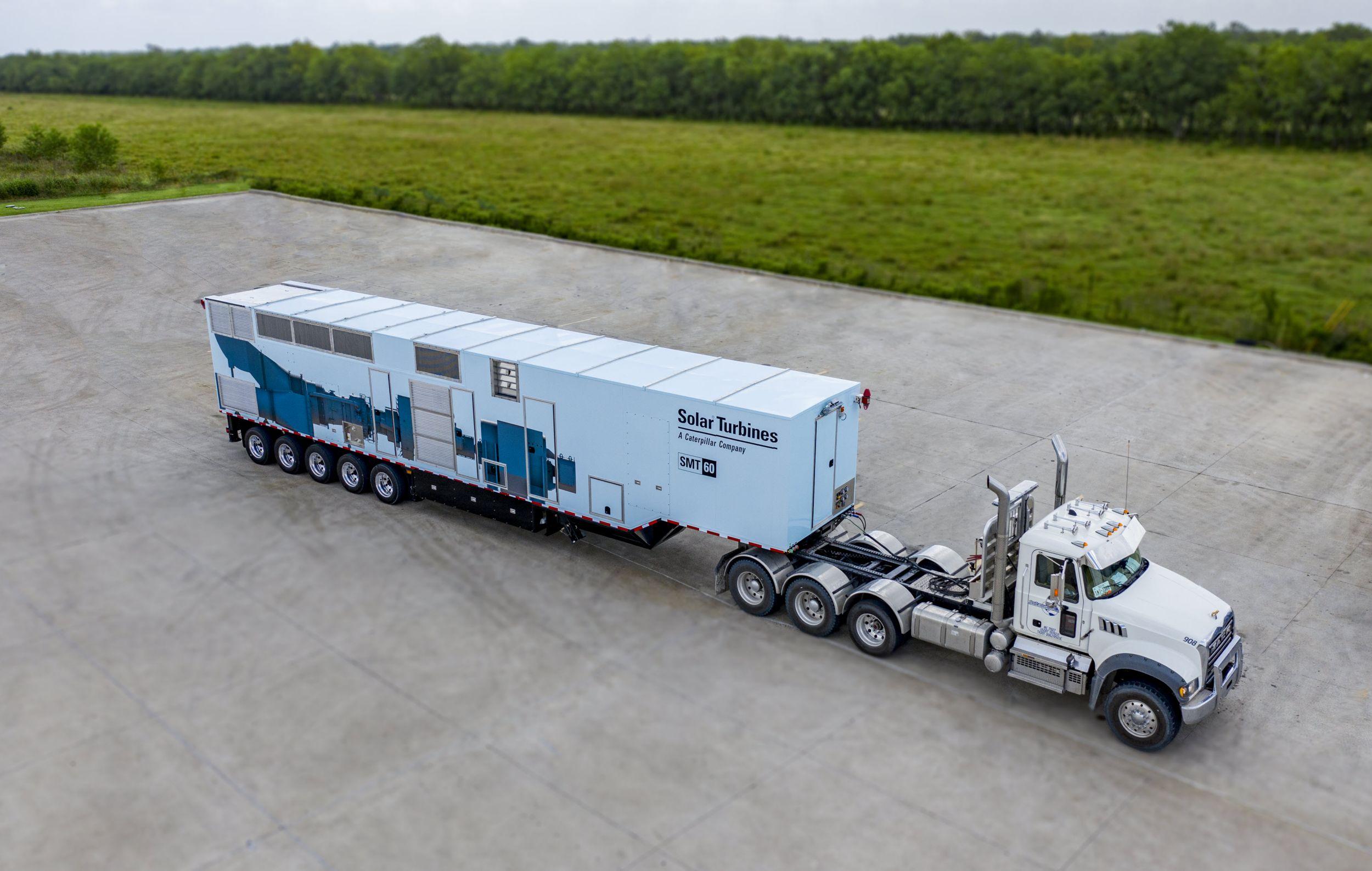 Solar Mobile Turbomachinery