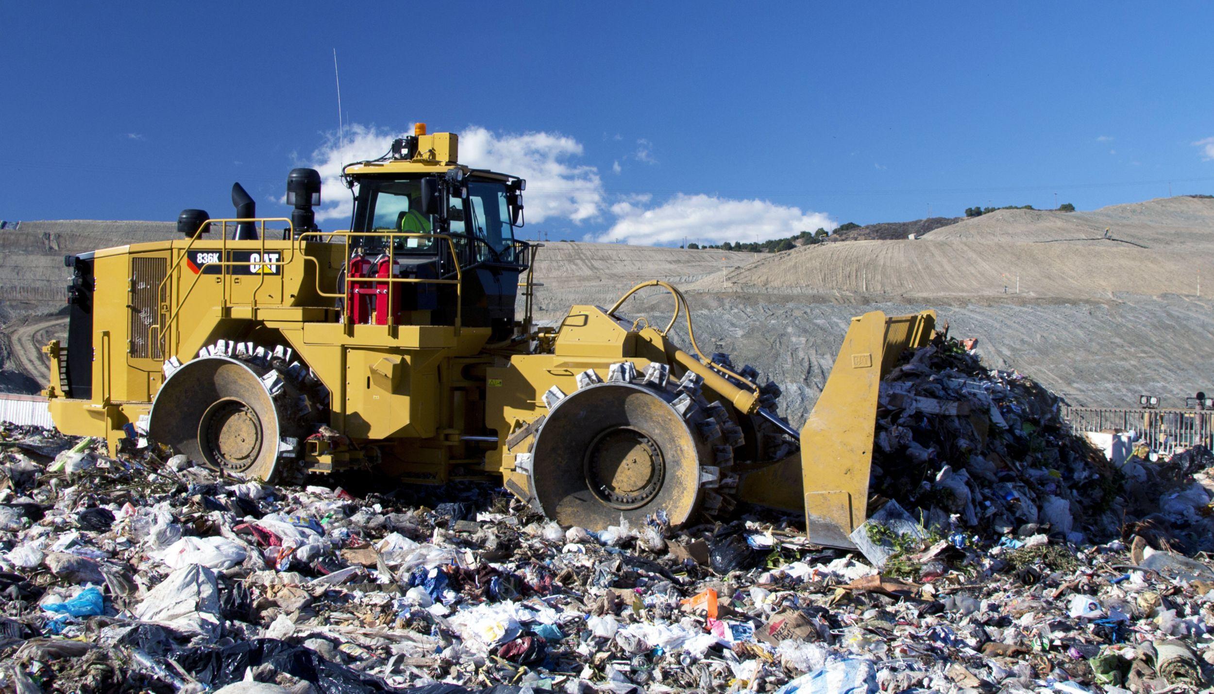 836K Landfill Compactor