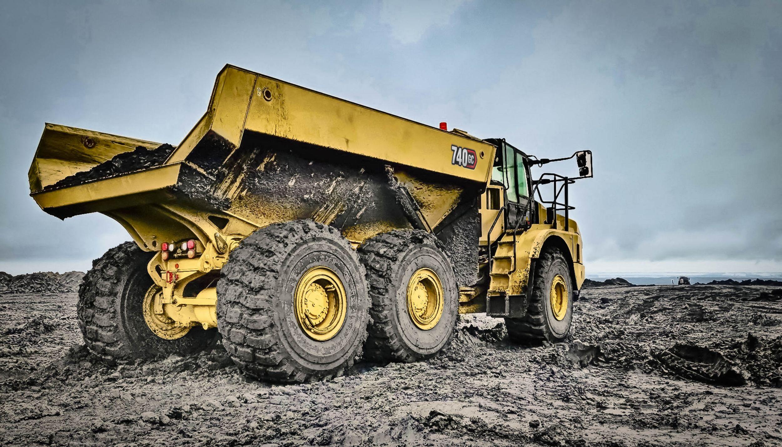 740 GC Articulated Truck