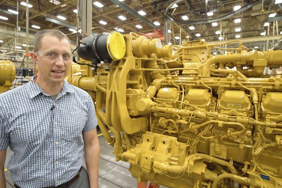 3512E Tier DGB Well Service Engine Walkaround