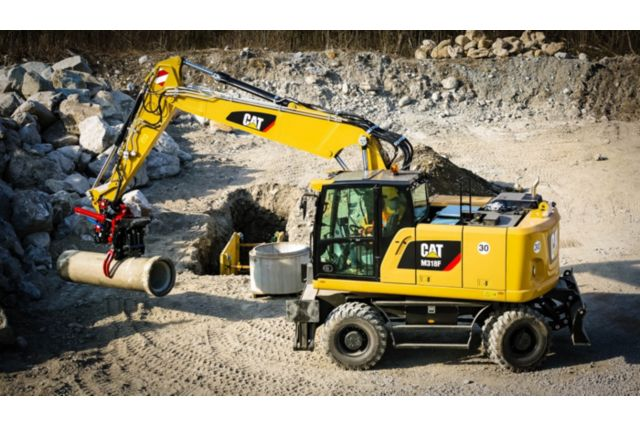 Cat M318F Wheeled Excavator - EXPAND YOUR CAPABILITIES