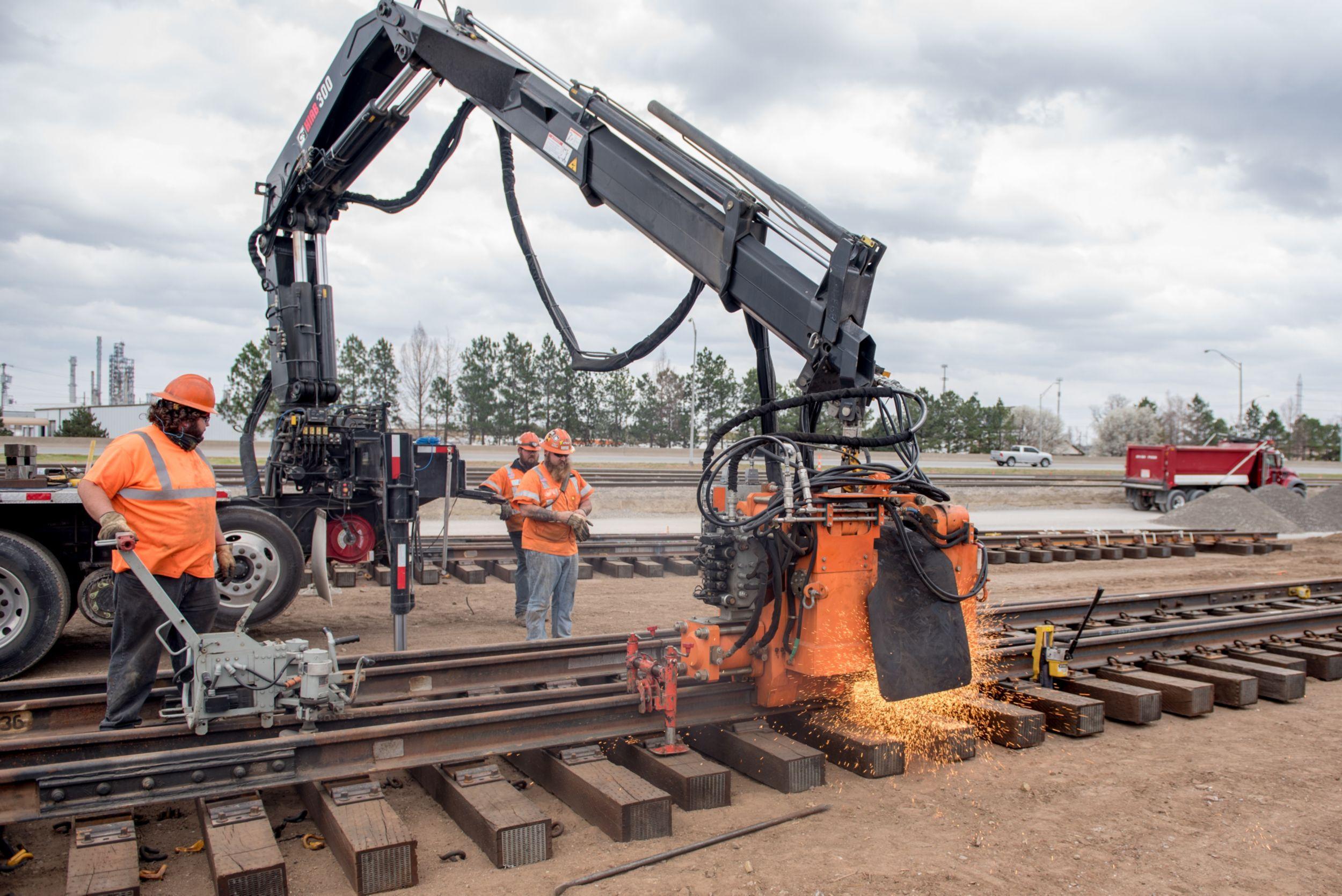 Progress Rail   Rail Welding