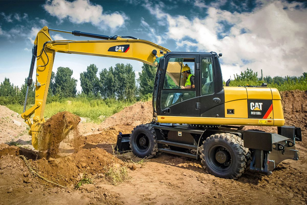 1.99% for 24 Months on New Cat® Wheeled Hydraulic Excavator
