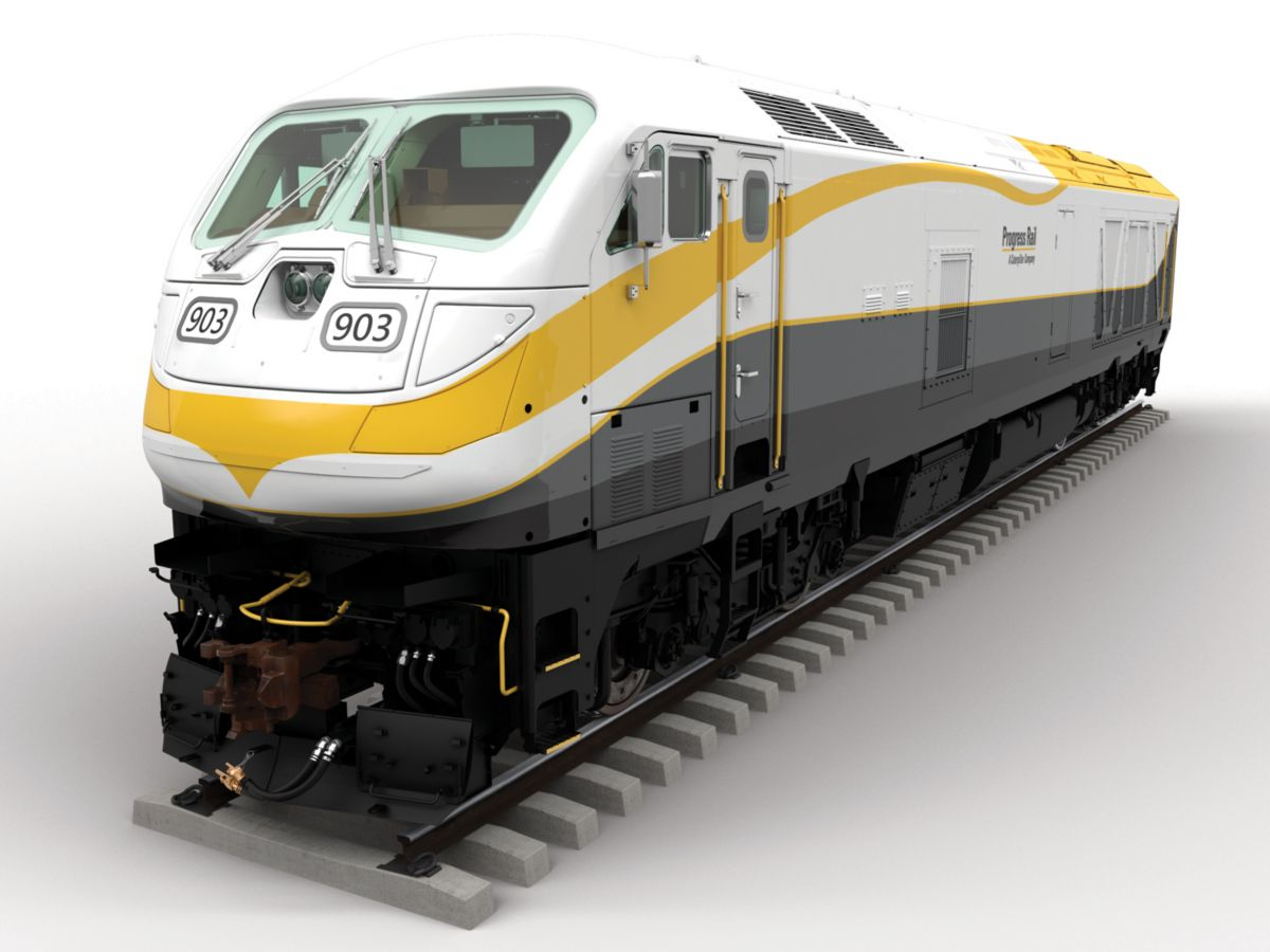 Progress Rail Unveils F125 Passenger Locomotive
