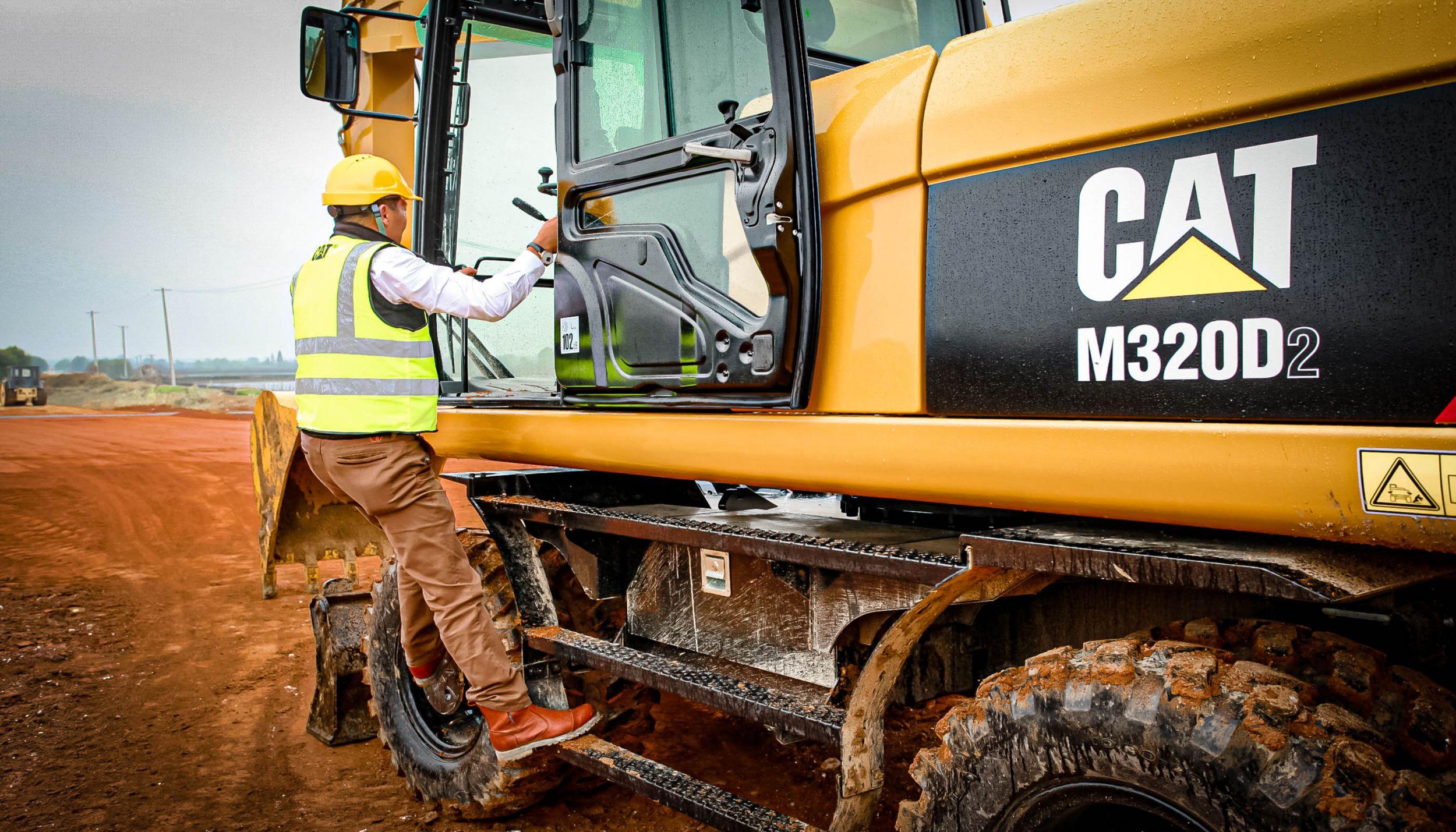 Cat | M320D2 Wheeled Excavator | Caterpillar