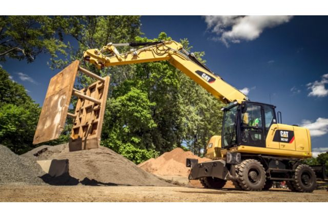 Cat M316F Wheeled Excavator - PERFORMANCE AND PRODUCTIVITY
