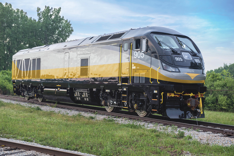 Passenger Locomotives F125 Repower