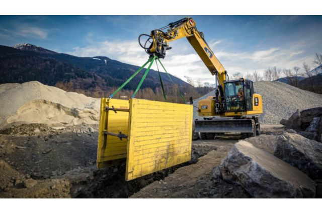 Cat M318F Wheeled Excavator - PERFORMANCE AND PRODUCTIVITY