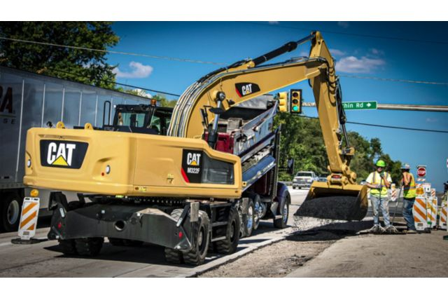 Cat M322F Wheeled Excavator - BUILT TO PERFORM