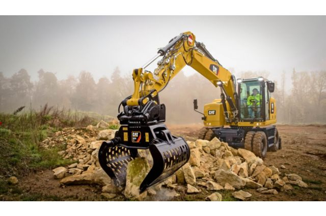 Cat M314F Wheeled Excavator - EXPAND YOUR CAPABILITIES
