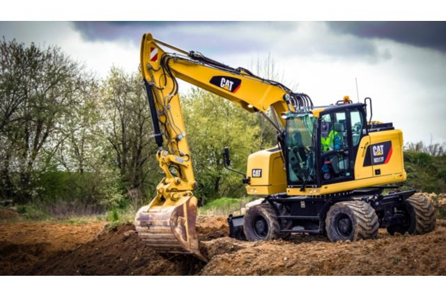 Cat M317F Wheeled Excavator - PERFORMANCE AND PRODUCTIVITY
