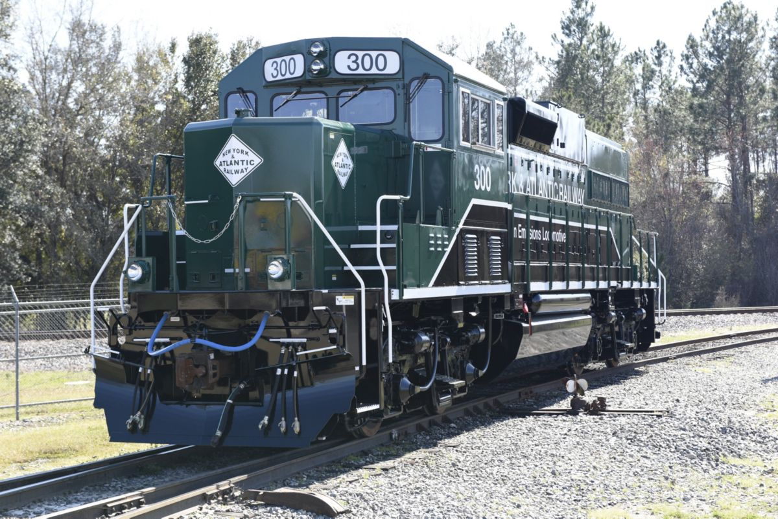 Repowered Locomotives