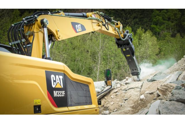 Cat M322F Wheeled Excavator - ONE MACHINE, MANY JOBS