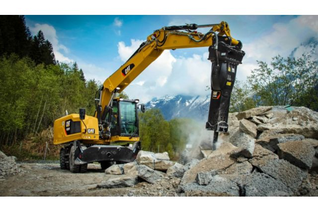 Cat M314F Wheeled Excavator - EASY TO OPERATE