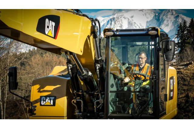 Cat M318F Wheeled Excavator - SAFELY HOME EVERY DAY