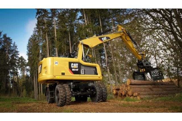 Cat M314F Wheeled Excavator - PERFORMANCE AND PRODUCTIVITY