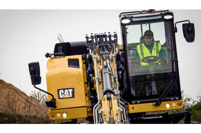 Cat M317F Wheeled Excavator - SAFELY HOME EVERY DAY