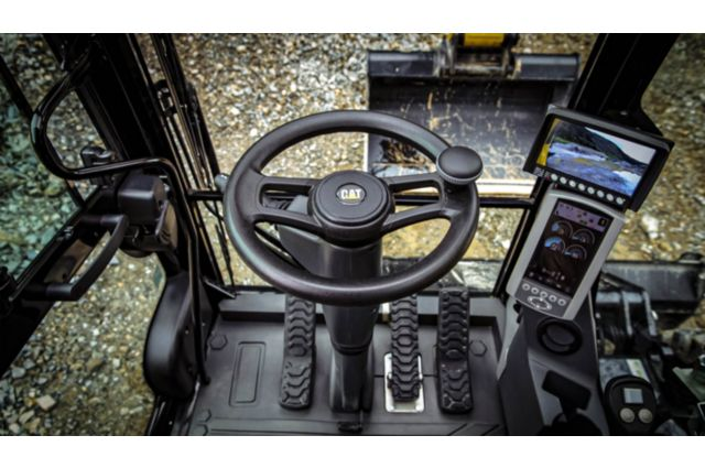 Cat M322F Wheeled Excavator - OPERATOR COMFORT AND CONTROL