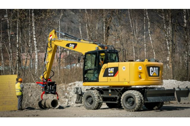 Cat M318F Wheeled Excavator - EASY TO OPERATE