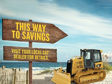 0% for 36 Months on Select Cat Machines