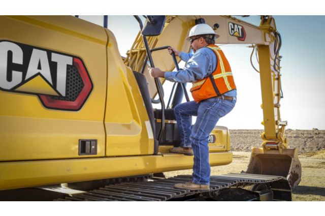 Cat 320 Hydraulic Excavator - SAFELY HOME EVERY DAY