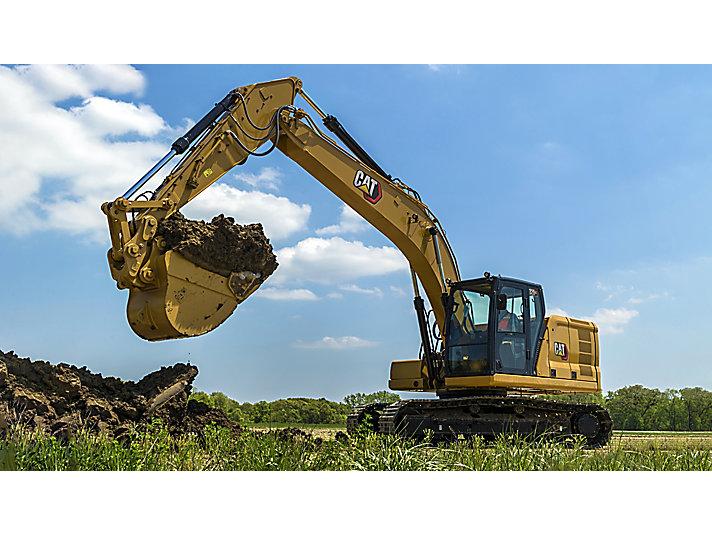 Cat®(卡特)中型挖掘机和大型挖掘机最新融资优惠