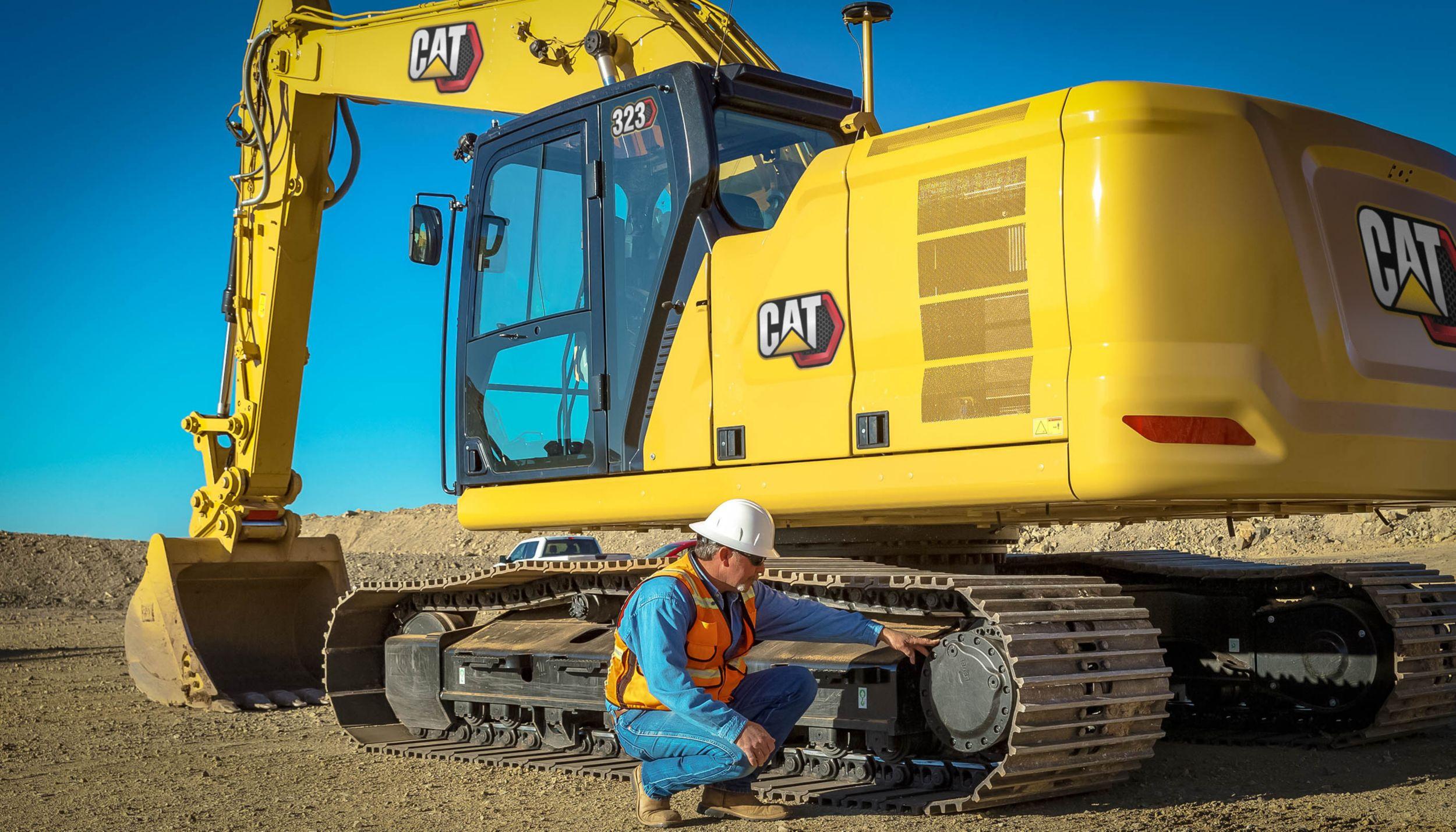 Cat   323 Hydraulic Excavator   Caterpillar