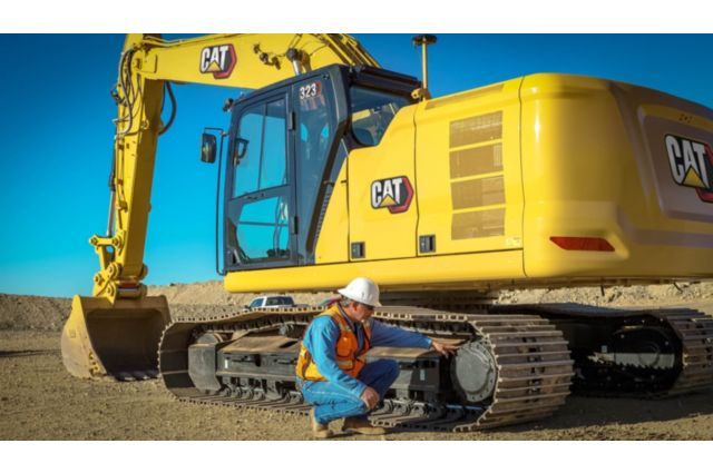 Cat 323 Hydraulic Excavator - SAFELY HOME EVERY DAY