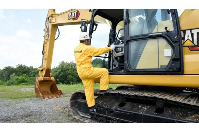 Cat 320 GC Hydraulic Excavator - SAFELY HOME EVERY DAY