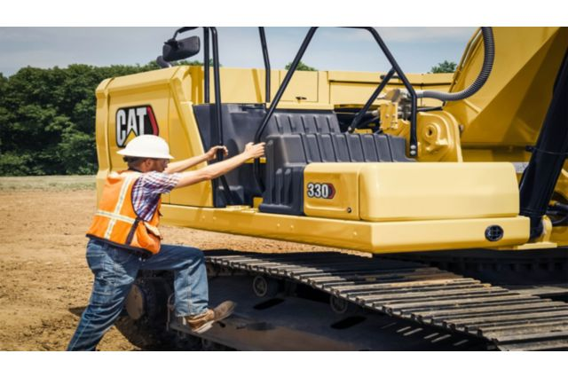 Cat 330 Hydraulic Excavator - SAFELY HOME EVERY DAY