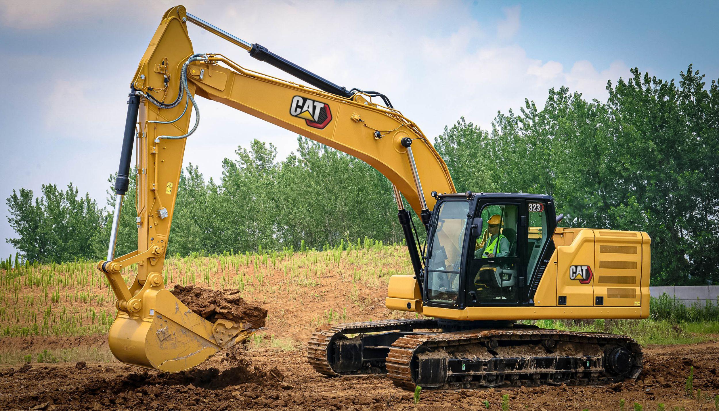 Cat | 323 Hydraulic Excavator | Caterpillar