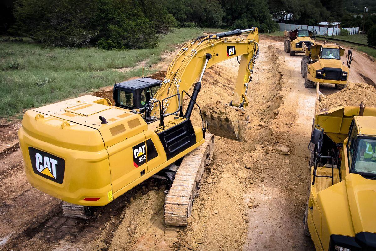 Cat 352 Hydraulic Excavator