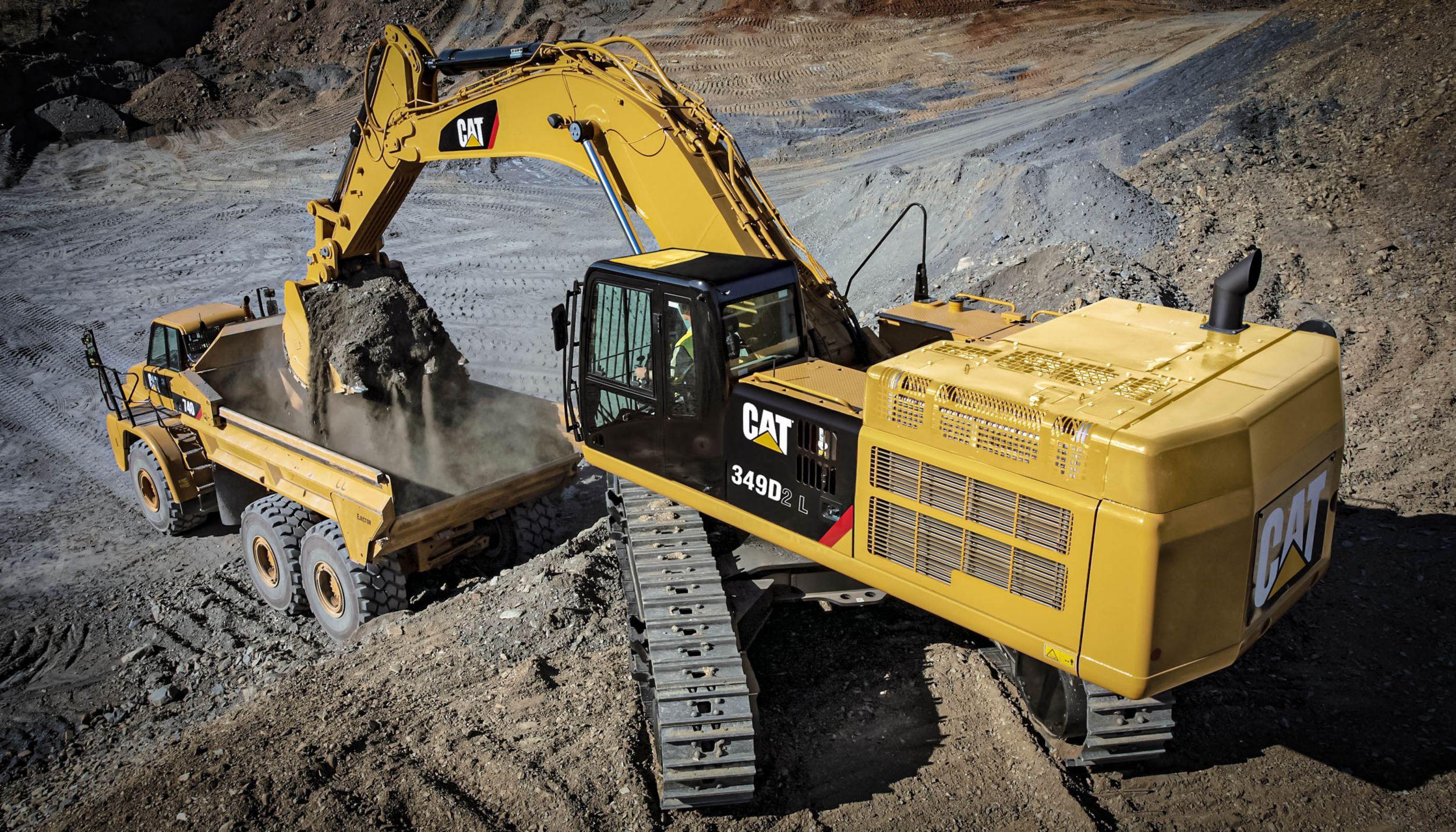 Cat | 349D2 Hydraulic Excavator | Caterpillar