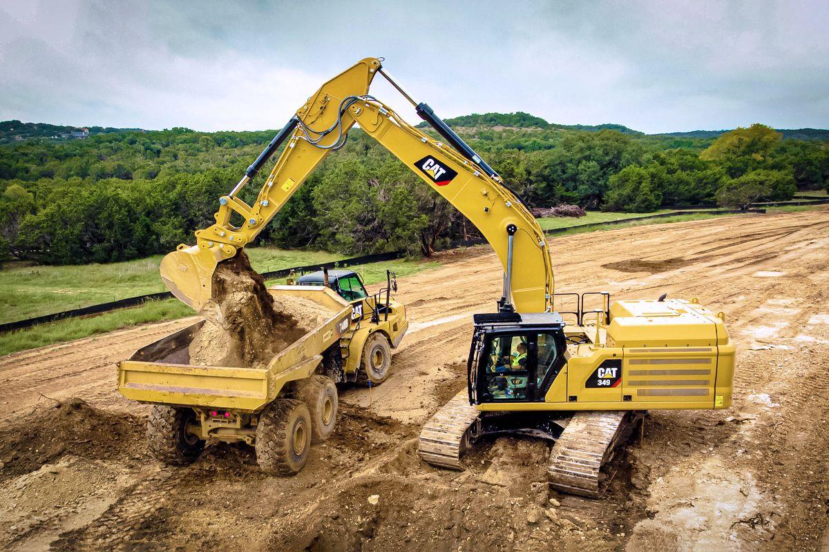 Cat 349 Hydraulic Excavator