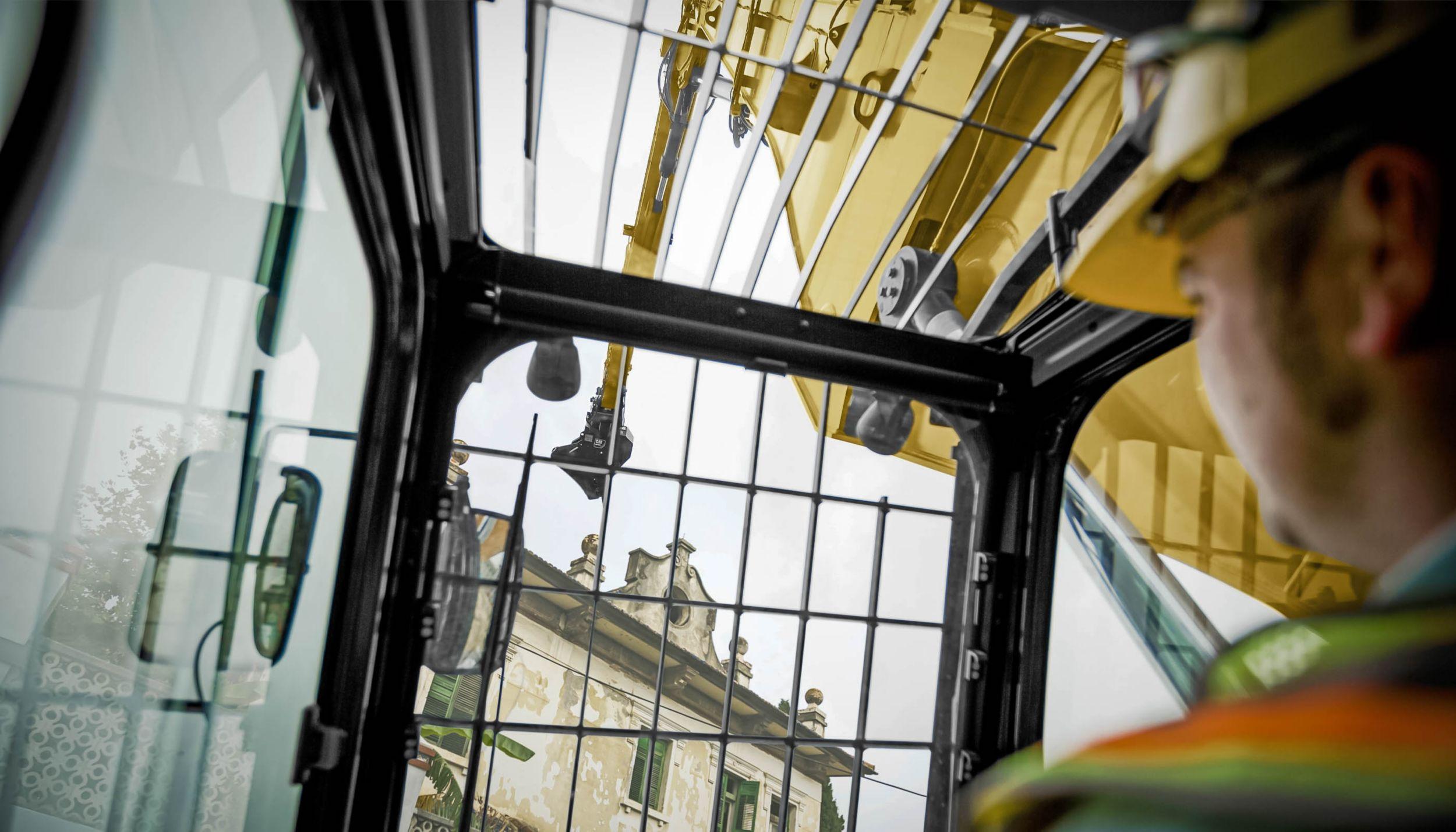 Cab Filtration for Demolition Equipment