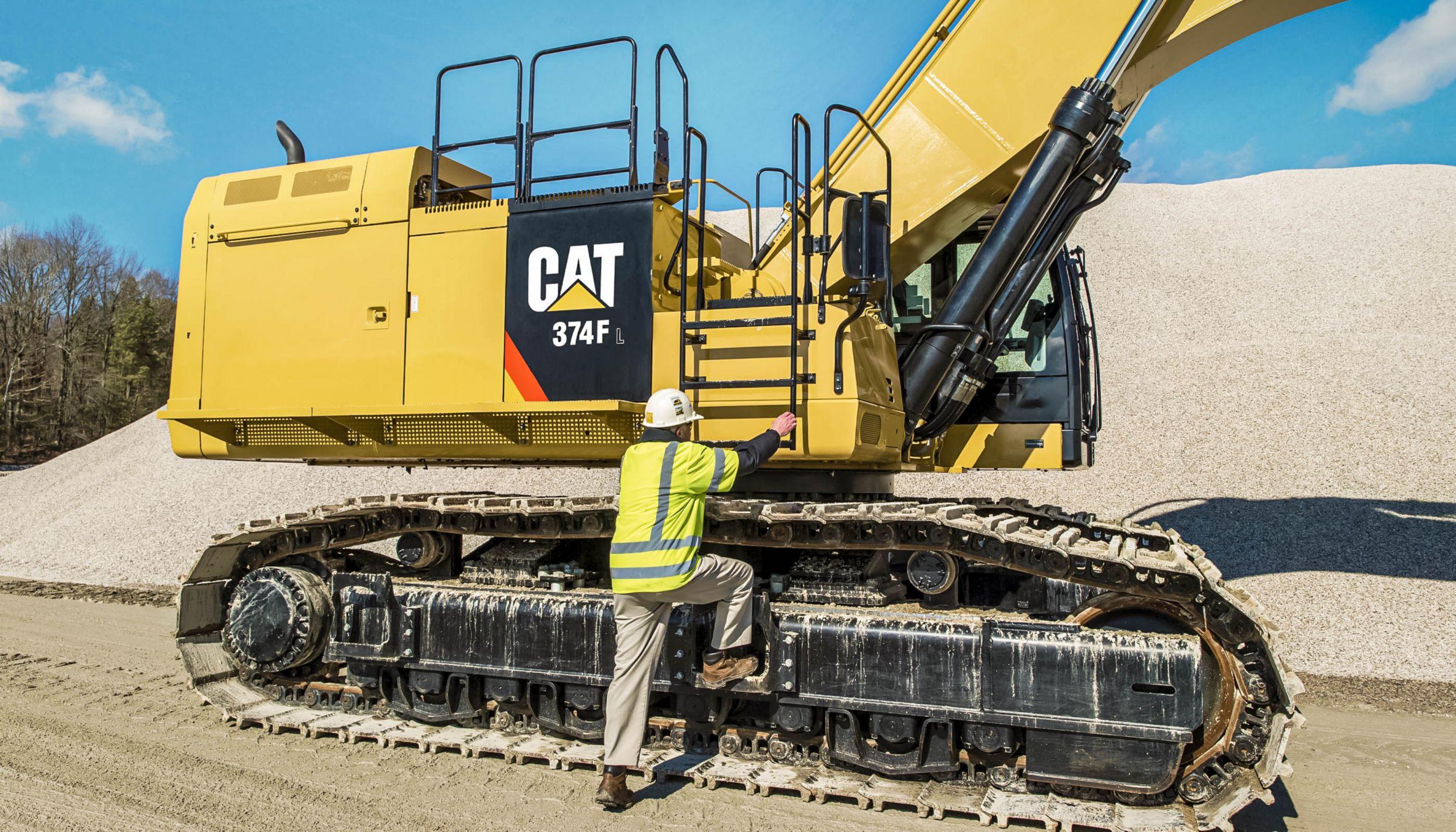 Cat | 374F Hydraulic Excavator | Caterpillar