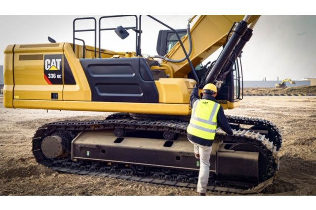 Cat 336 GC Hydraulic Excavator - BUILT-IN SAFETY FEATURES