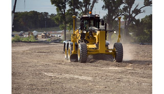 Cat 14 Motor Grader - MORE CONTROL AND EFFICIENCY