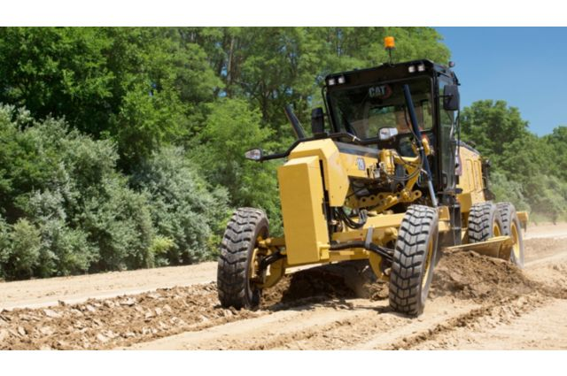 Cat 120 Motor Grader - MOVE MORE WITH LESS FUEL