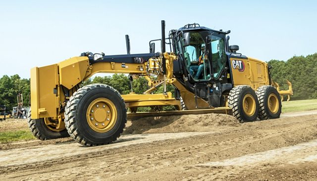 Cat 150 Motor Grader - PERFORMANCE AND PRODUCTIVITY