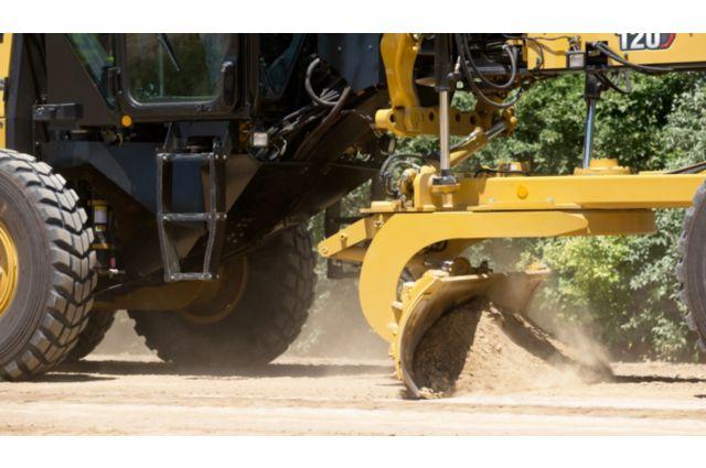 Cat 120 Motor Grader - TECHNOLOGY THAT GETS WORK DONE