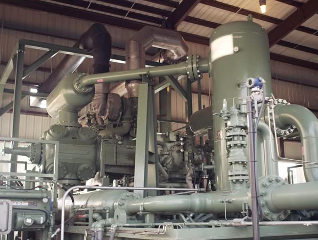 Gas Compression Engines