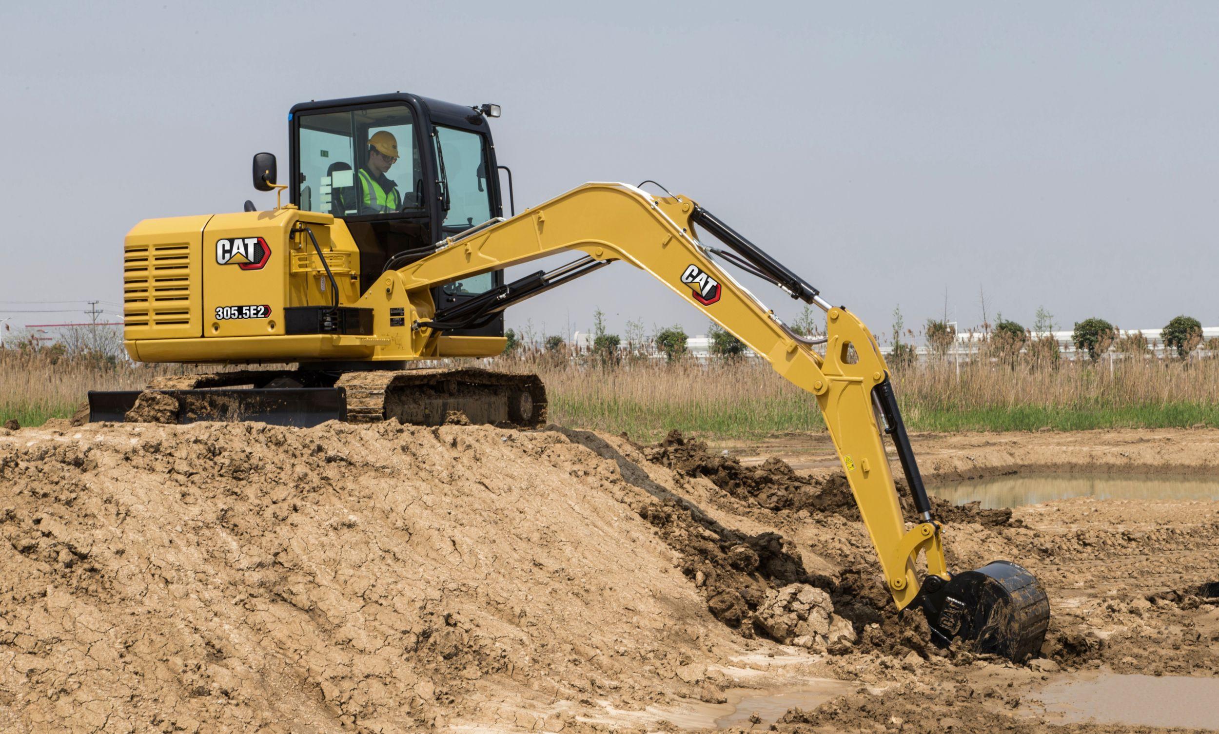 305 5e2 Mini Excavator Cat Caterpillar