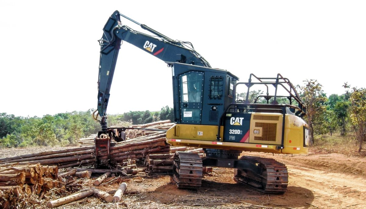 Cat | 320D2 FM Forest Machine | Caterpillar